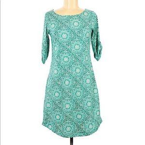 Lola Medallion Roll Tab Dress